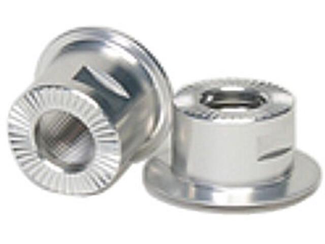 NoTubes Eindkappen achter voor 10x135 mm steekas ZTR/3.30/3.30Ti/3.30SS zilver